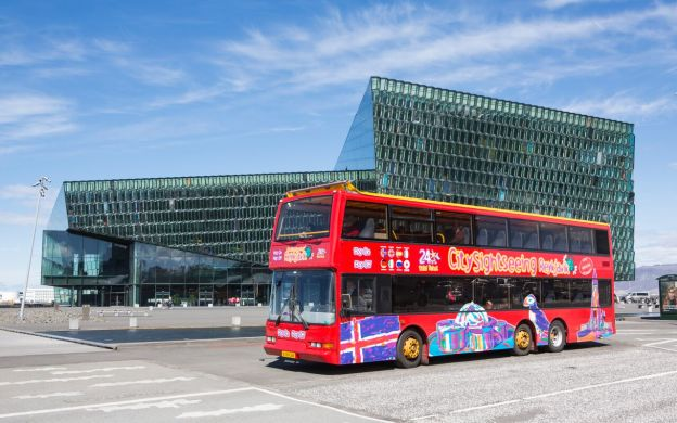 City Sightseeing Reykjavik Hop-On, Hop-Off Tour and Flybus Airport Shuttle: Save 10%