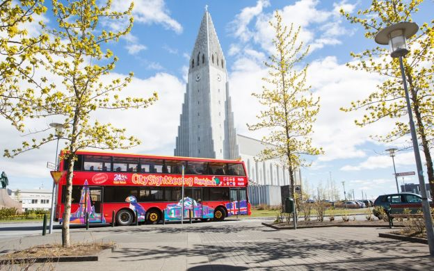 City Sightseeing Reykjavik Hop-On, Hop-Off Tour and South Coast Tour