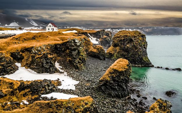 Iceland 5-Day Guided Tour:  Golden Circle,Glacier lagoon,Blue Ice Cave, South Coast and Geothermal Baths