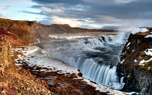 The Golden Circle Tour with Gullfoss Waterfall