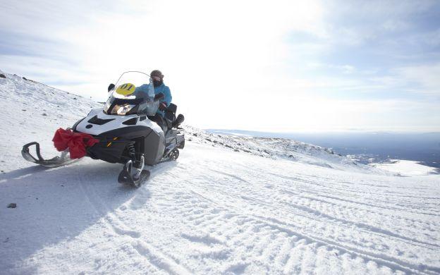 Snowmobile Adventure, Iceland