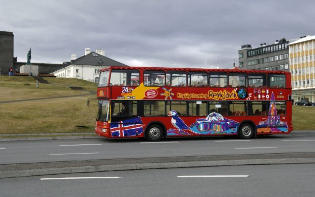 Reykjavik Hop-On, Hop-Off Bus & The Golden Circle Tour