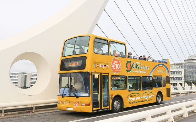 CityScape Dublin Yellow Bus Hop-On, Hop-Off Tour – 24 hours & 48 hours+24 hours(free)