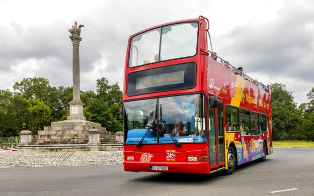 City Sightseeing Dublin: Hop-on, Hop-off Tour