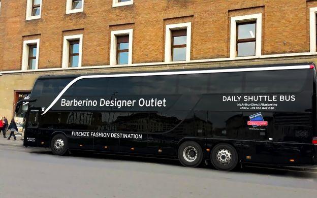 Return Shuttle Transfers between Florence & Barberino Designer Outlet