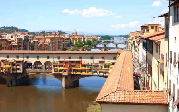 Walking Tour of Vasari Corridor and Uffizi Gallery