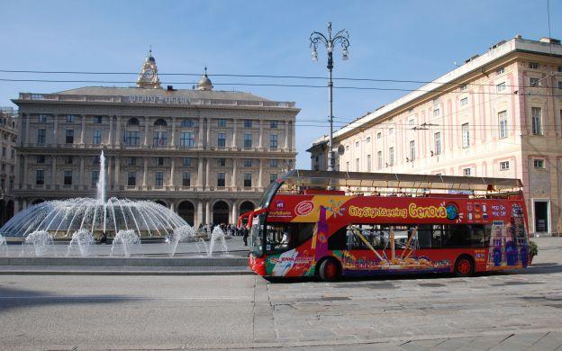 City Sightseeing Genoa: Hop-On, Hop-Off Tour