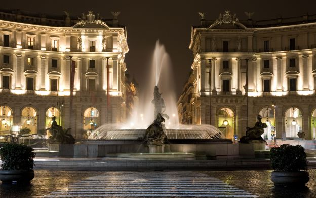 Rome by Night - Illuminated Attractions and Dinner