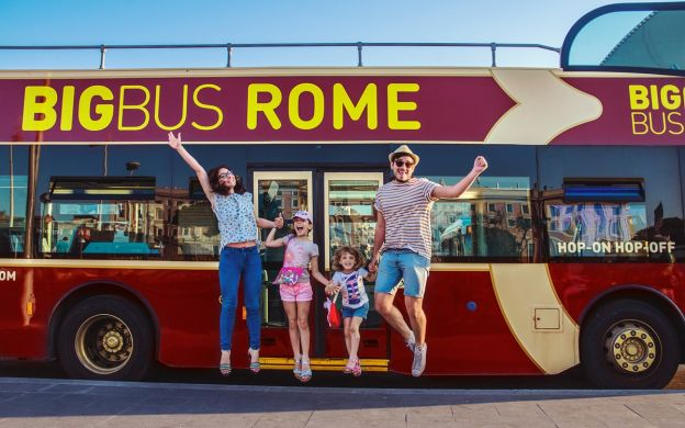 Big Bus Rome: Hop-On, Hop-Off Bus