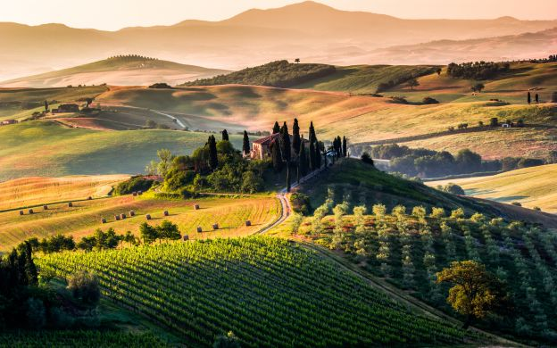 Best of Tuscany with Lunch and Wine Tasting – from Rome