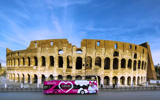 I Love Rome: Hop-On, Hop-Off Bus