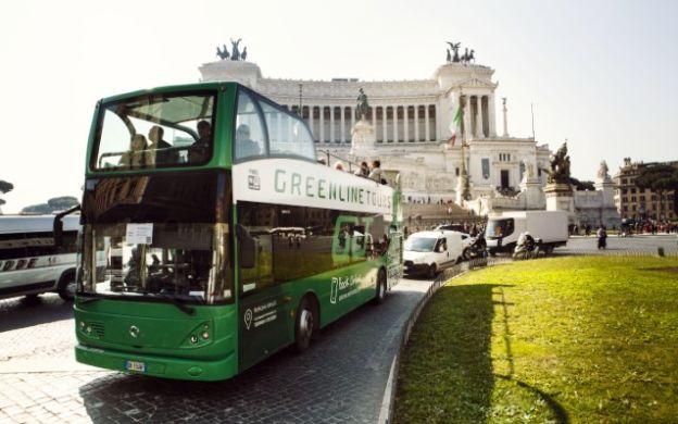 GreenLine Rome: Hop-On, Hop-Off Bus Tour