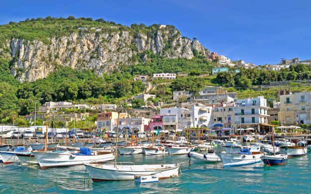 A Day on Capri Island from Sorrento – Private Tour or Shore Excursion