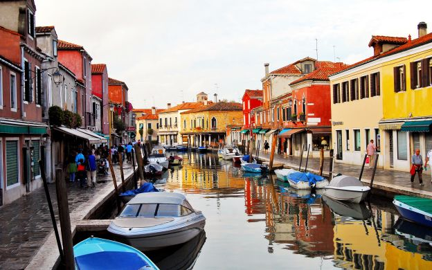 Venice Gondola Ride and Glassblowing Demonstration
