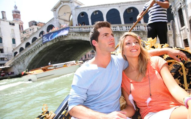 Romantic Venice Gondola Ride for Two