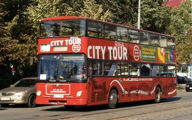 Red Sightseeing Riga: Hop-On, Hop-Off Bus Tour
