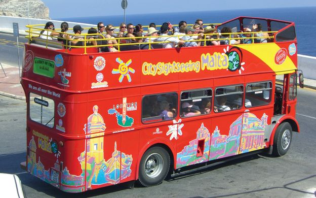 City Sightseeing Malta: Hop-On, Hop-Off Bus Tour