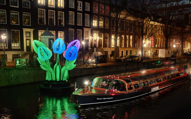 Amsterdam Light Festival Water Colors Canal Cruise