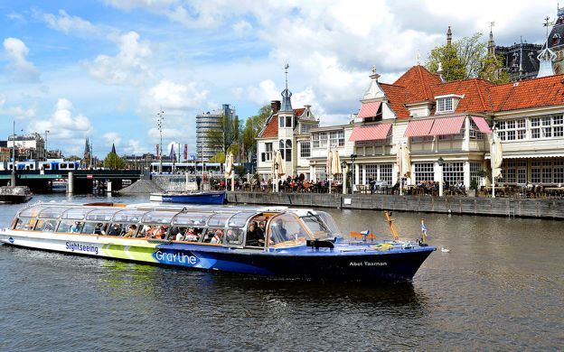 Canal Cruise and Van Gogh Museum, Amsterdam