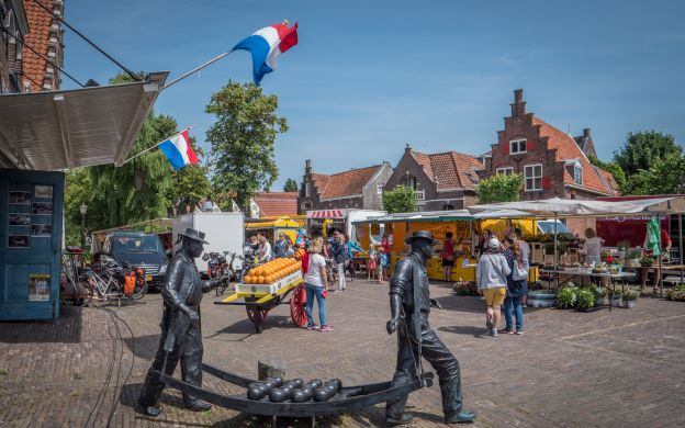Amsterdam Countryside and Windmills Hop-On, Hop-Off Bus Tour with Attraction Ticket