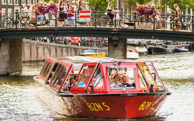 City Sightseeing Amsterdam: Hop-On, Hop-Off Boat