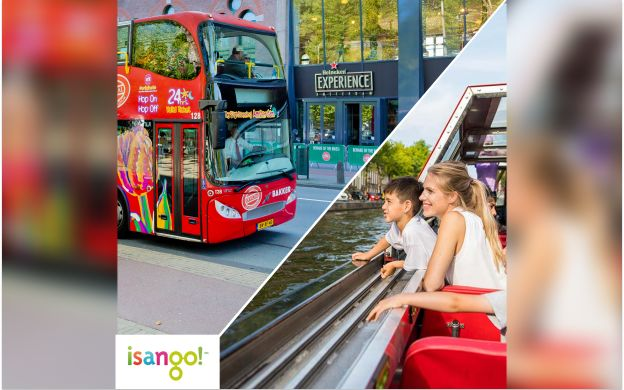 City Sightseeing Amsterdam: Hop-On Hop-Off Bus and Boat
