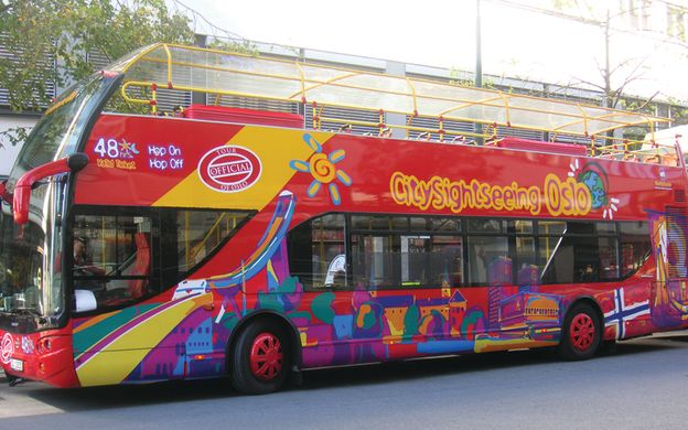 City Sightseeing Oslo: Hop-On, Hop-Off Bus Tour