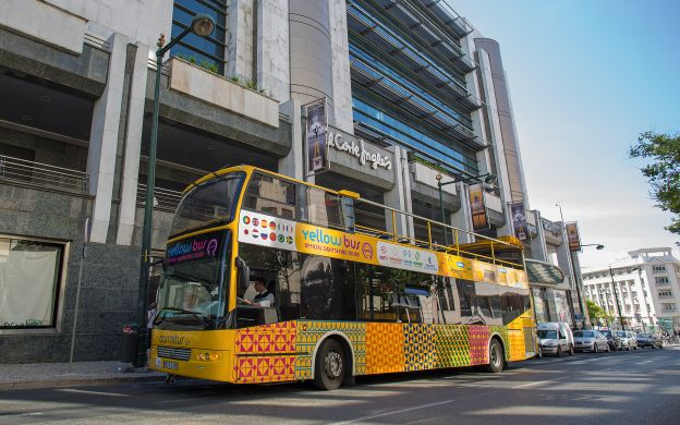 Yellow Bus Lisbon Hop-On, Hop-Off Bus - Choice of Routes!