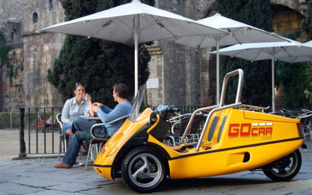 GoCar Barcelona: Sightseeing Tour