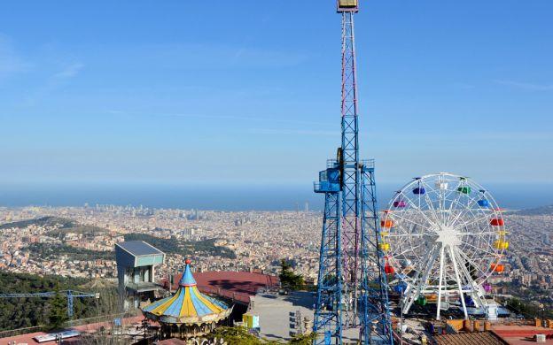 Tibidabo Amusement Park Ticket with Optional Funicular Ride