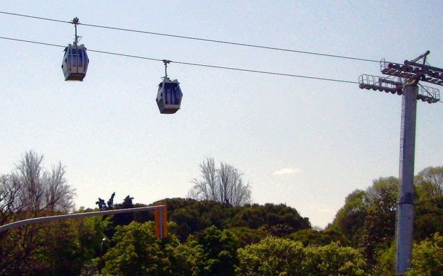 Montjuic Cable Car Ride, Barcelona