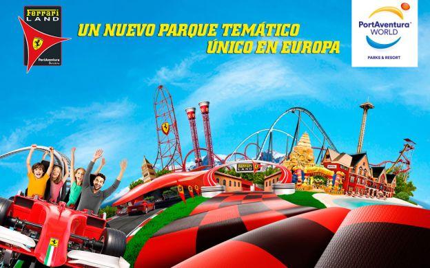 Ferrari Land, PortAventura & Caribe Acquatic Park, 3 or 4 Days