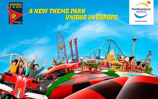 Ferrari Land and PortAventura Park: Admissions with Return Transfers from Barcelona
