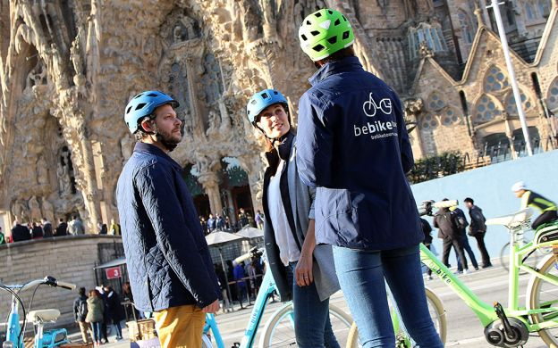 Best of Gaudi E-Bike Guided Tour, Barcelona