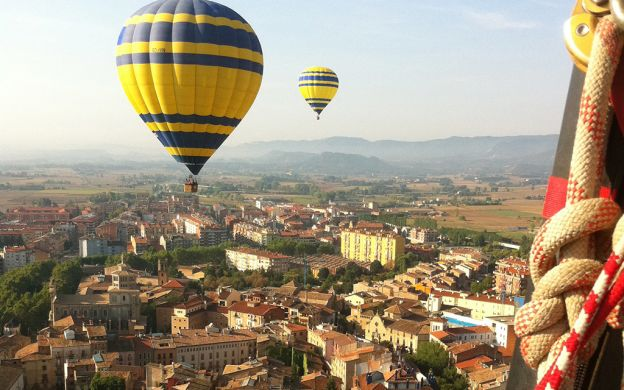 Ballooning above Barcelona – A trip over the city