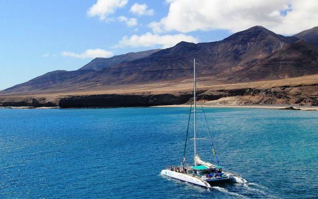 Catamaran cruise off Fuerteventura