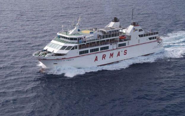 Naviera Armas Ferry Ticket with Optional Return Transfer