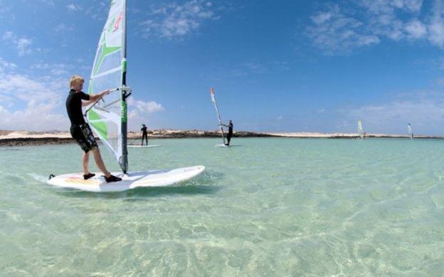 Windsurfing in Corralejo