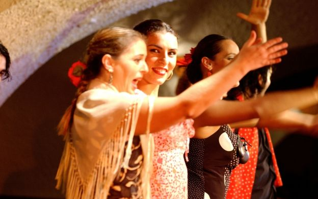 Flamenco and Spanish Dancing at Cafe De Chinitas, Madrid