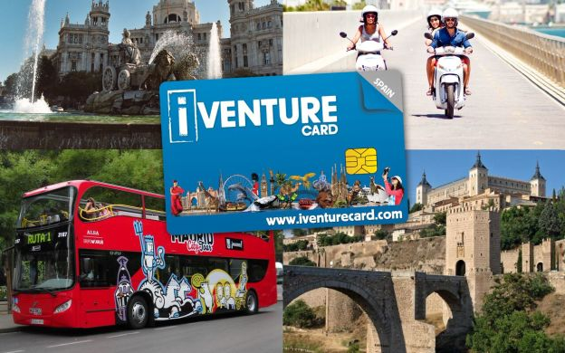 i-Venture Madrid Unlimited Attraction Pass: Hop-on Hop-off, Bernabeu Stadium, Prado Museum and More