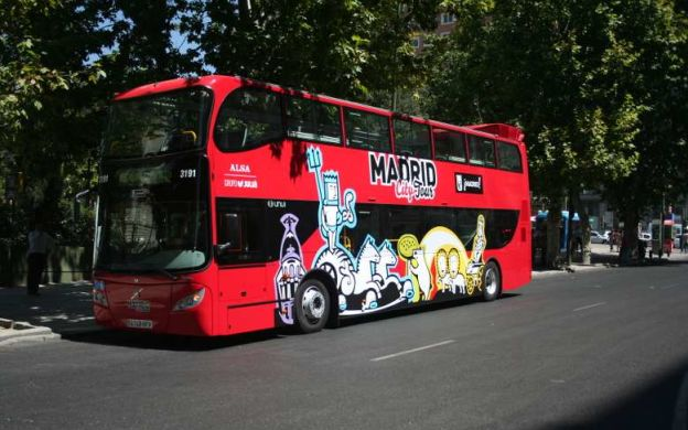 Madrid City Tour: Hop-On, Hop-Off Ticket