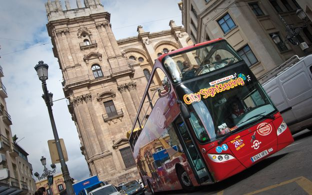 city sightseeing malaga: hop-on, hop-off bus tour