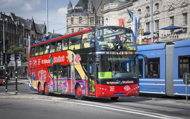 City Sightseeing Stockholm: Hop-On, Hop-Off Bus And/Or Boat Tour