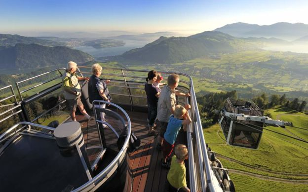 Visit Mt. Stanserhorn With CabriO Cable Car Ride