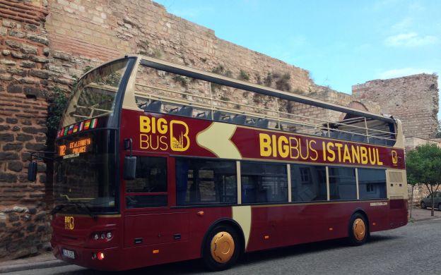 Big Bus Istanbul: Hop-On, Hop-Off Tour