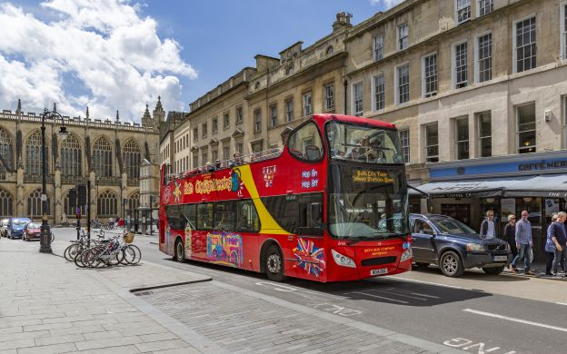 City Sightseeing Bath: Hop-On, Hop-Off Bus Tour