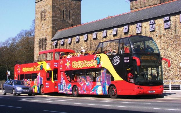 City Sightseeing Cardiff: Hop-On, Hop-Off Tour