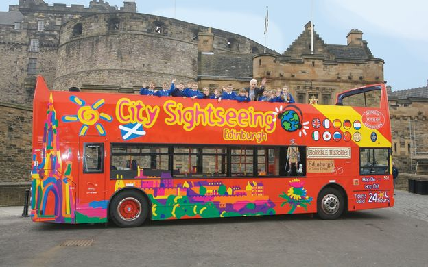 City Sightseeing Edinburgh: Hop-On, Hop-Off Bus Tour