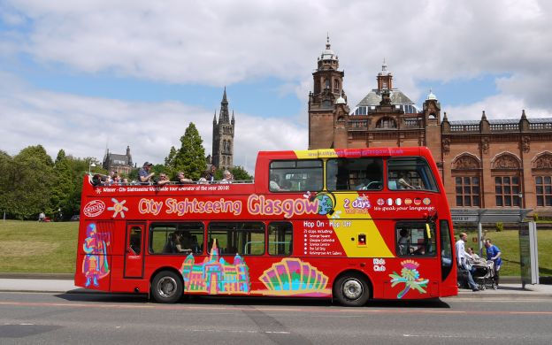 City Sightseeing Glasgow: Hop-On, Hop-Off Tour