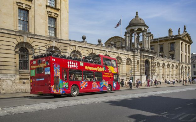 City Sightseeing Oxford: Hop-On, Hop Off Bus Tour